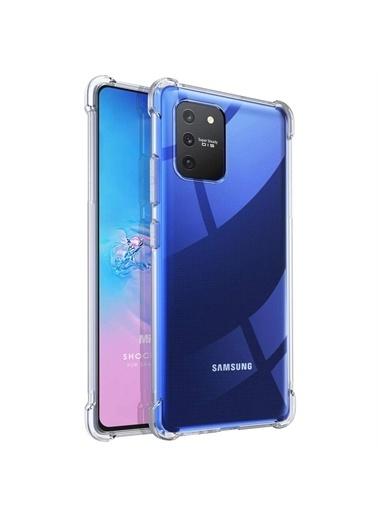 Microsonic Samsung Galaxy S10 Lite Kılıf Shock Absorbing Şeffaf Renksiz